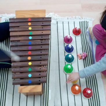 TASTASONS la iniciació a la música pels alumnes de 5 i 6 anys